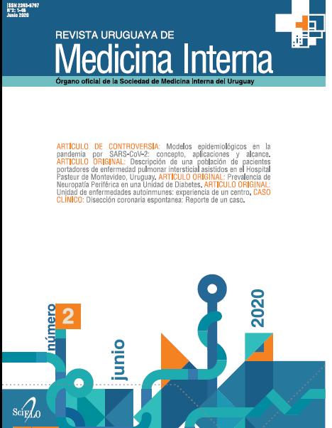 Ver Vol. 5 Núm. 2 (2020): Revista Uruguaya de Medicina Interna