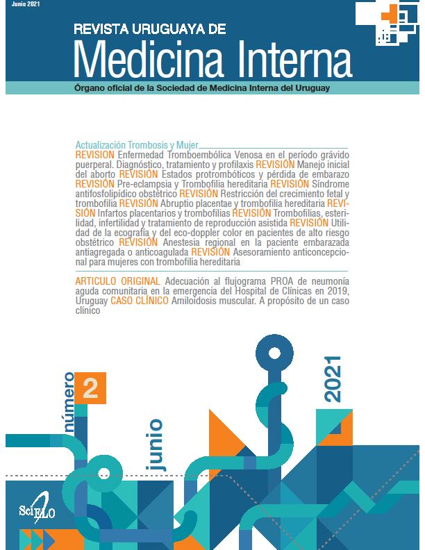 Ver Vol. 6 Núm. 2 (2021): Revista Uruguaya de Medicina Interna